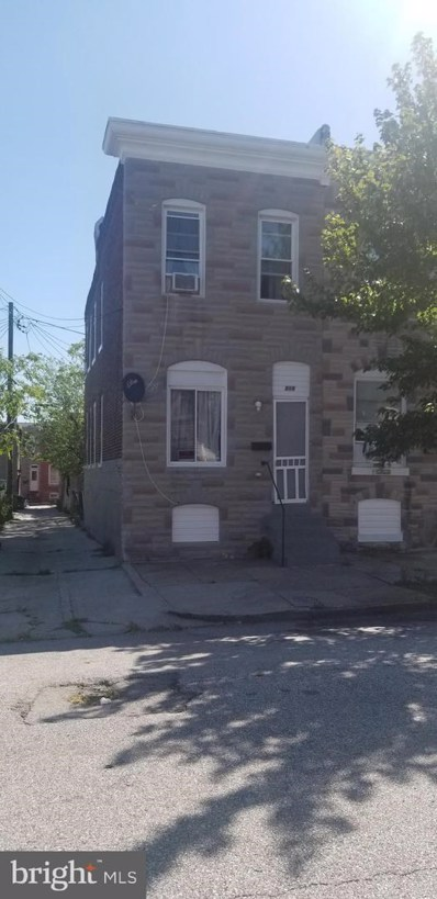 519 N Montford Avenue, Baltimore, MD 21205 - #: MDBA482388