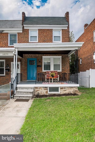 1418 W 37TH Street, Baltimore, MD 21211 - #: MDBA482548