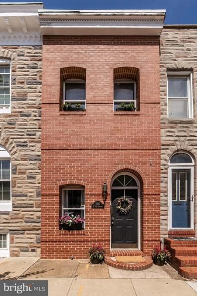 520 E Fort Avenue, Baltimore, MD 21230 - #: MDBA482606