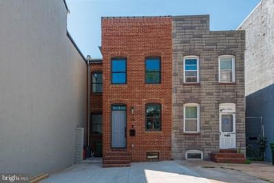 314 S Washington Street, Baltimore, MD 21231 - MLS#: MDBA482712