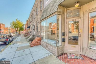 525 E Fort Avenue, Baltimore, MD 21230 - #: MDBA482732