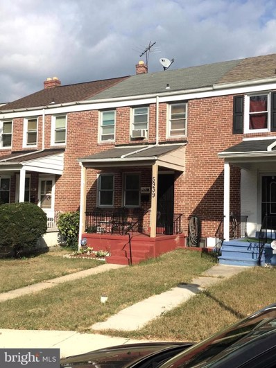 5939 Glenkirk Road, Baltimore, MD 21239 - #: MDBA482986