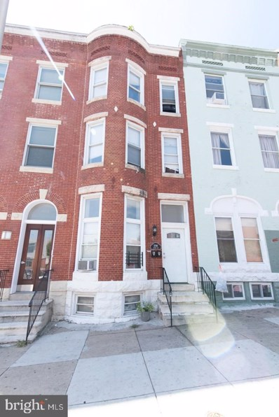 2016 Linden Avenue UNIT A, Baltimore, MD 21217 - MLS#: MDBA483170