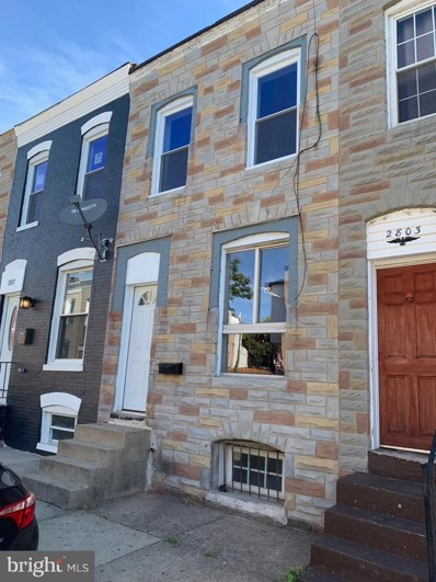 2805 Miles Avenue, Baltimore, MD 21211 - #: MDBA483380
