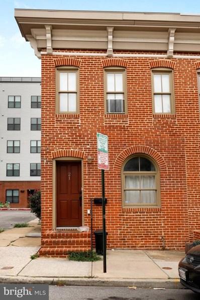 21 E Barney Street, Baltimore, MD 21230 - #: MDBA483394