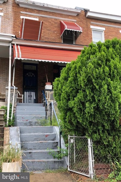 2516 Aisquith Street, Baltimore, MD 21218 - #: MDBA483416