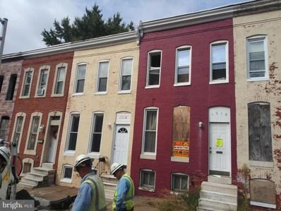 1516 Holbrook Street, Baltimore, MD 21202 - #: MDBA483576