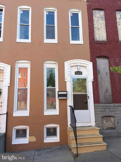 533 Bloom Street, Baltimore, MD 21217 - #: MDBA483634