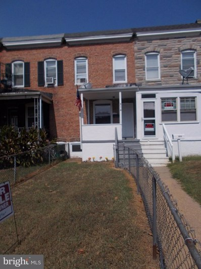 514 Maude Avenue, Baltimore, MD 21225 - #: MDBA483640