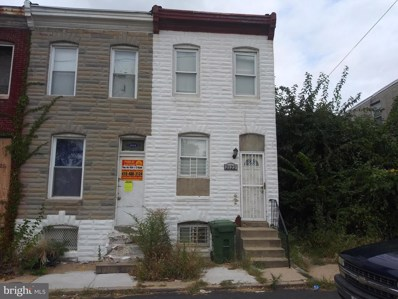 2124 Boyd Street, Baltimore, MD 21223 - #: MDBA483700