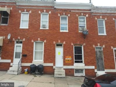 2532 W Pratt Street, Baltimore, MD 21223 - #: MDBA483708