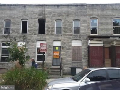 1609 W Pratt Street, Baltimore, MD 21223 - #: MDBA483716