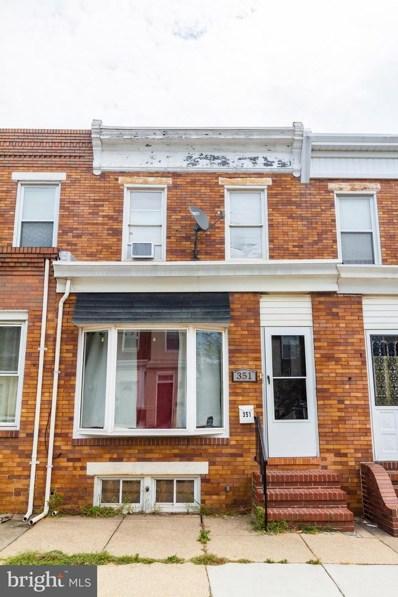 351 Cornwall Street, Baltimore, MD 21224 - #: MDBA483814