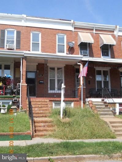 626 McKewin Avenue, Baltimore, MD 21218 - #: MDBA483838