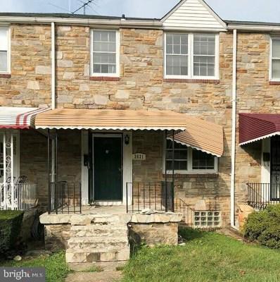 3631 Dolfield Avenue, Baltimore, MD 21215 - #: MDBA483864