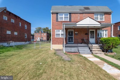 3718 Bartwood Road, Baltimore, MD 21215 - #: MDBA484258
