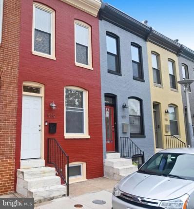 919 N Bradford Street, Baltimore, MD 21205 - #: MDBA484278
