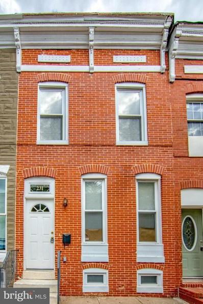 231 N Milton Avenue, Baltimore, MD 21224 - #: MDBA484394