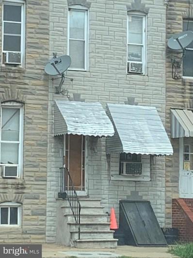 2012 Eagle Street, Baltimore, MD 21223 - #: MDBA484676
