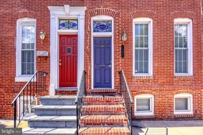 1502 Marshall Street, Baltimore, MD 21230 - #: MDBA484700