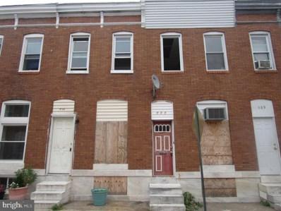 811 N Belnord Avenue, Baltimore, MD 21205 - #: MDBA484986