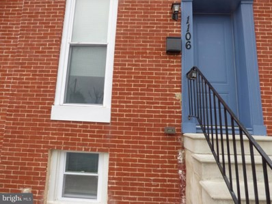 1106 N Bond Street, Baltimore, MD 21213 - #: MDBA485016