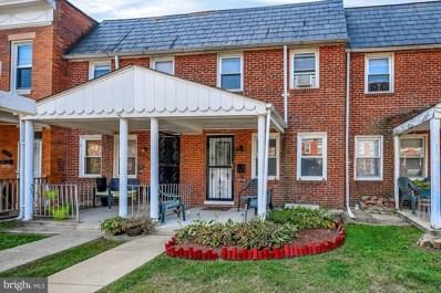 4715 Frederick Avenue, Baltimore, MD 21229 - #: MDBA485036