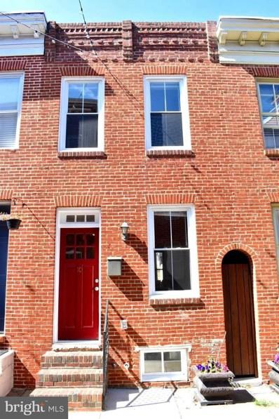10 S Castle Street, Baltimore, MD 21231 - MLS#: MDBA485182