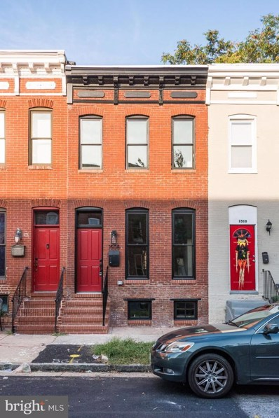 1508 N Eden Street, Baltimore, MD 21213 - #: MDBA485398