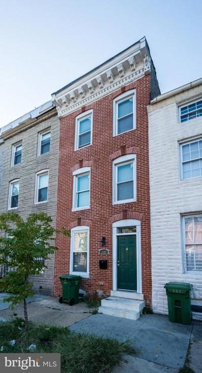 1209 W Lombard Street, Baltimore, MD 21223 - #: MDBA485416
