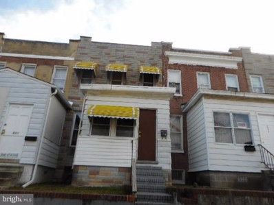 3603 9TH Street, Baltimore, MD 21225 - #: MDBA485486