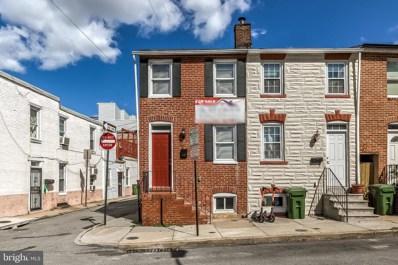 40 E Barney Street, Baltimore, MD 21230 - #: MDBA485682