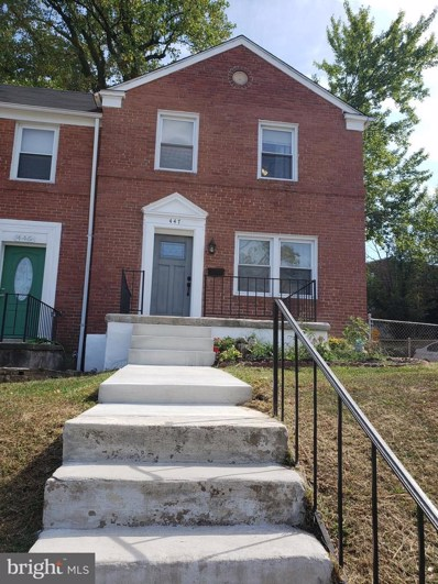 447 Random Road, Baltimore, MD 21229 - #: MDBA486100