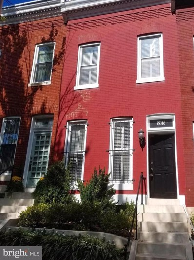 208 E Eager Street, Baltimore, MD 21202 - #: MDBA486298