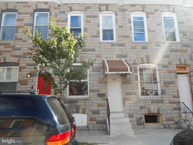 159 N Curley Street, Baltimore, MD 21224 - #: MDBA486920