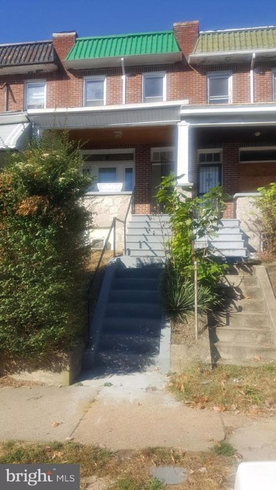 1622 Poplar Grove Street, Baltimore, MD 21216 - #: MDBA486928
