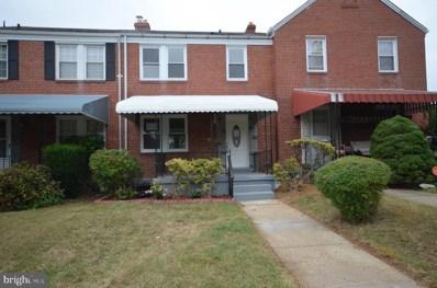 808 N Chapelgate Lane, Baltimore, MD 21229 - #: MDBA486944