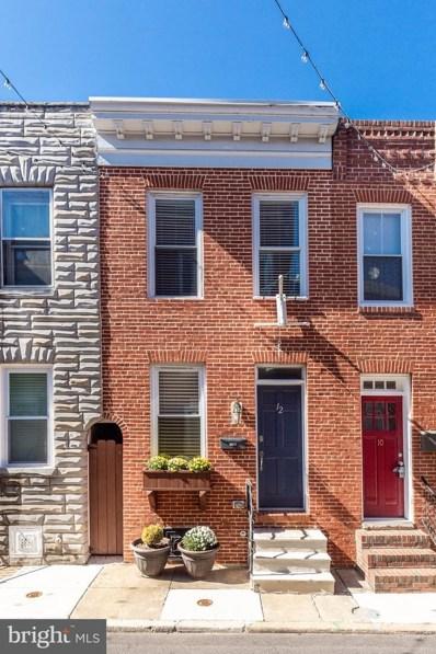 12 S Castle Street, Baltimore, MD 21231 - MLS#: MDBA487084