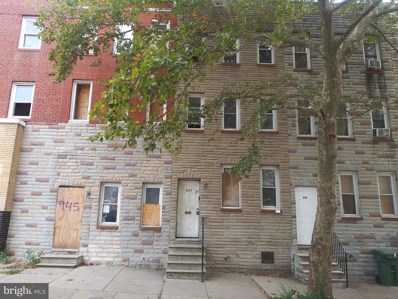 943 N Mount Street, Baltimore, MD 21217 - MLS#: MDBA487246