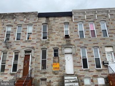 2118 Ashton Street, Baltimore, MD 21223 - #: MDBA487252