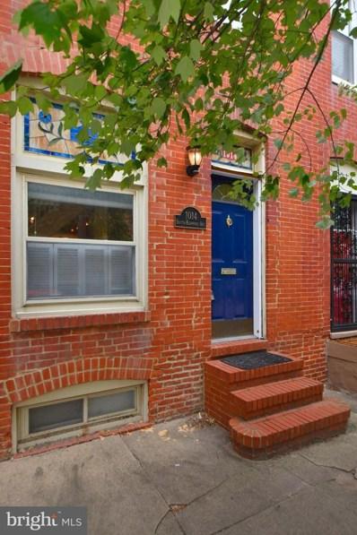 1014 S Kenwood Avenue, Baltimore, MD 21224 - MLS#: MDBA487310