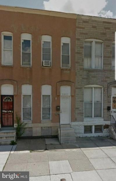 2137 Wilkens Avenue, Baltimore, MD 21223 - #: MDBA487482