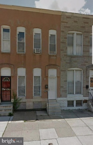 2137 Wilkens Avenue, Baltimore, MD 21223 - #: MDBA487482
