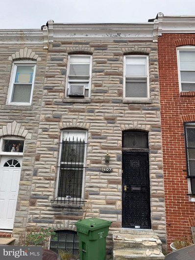 1607 Hakesley Place, Baltimore, MD 21213 - #: MDBA487636