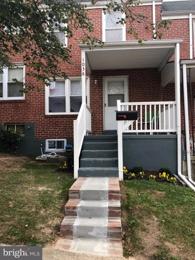 1038 Rockhill Avenue, Baltimore, MD 21229 - #: MDBA487794