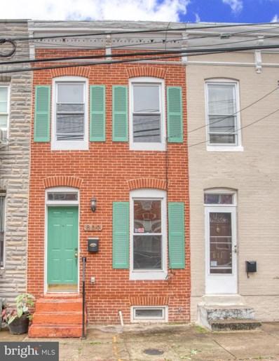 809 Mangold Street, Baltimore, MD 21230 - #: MDBA487822