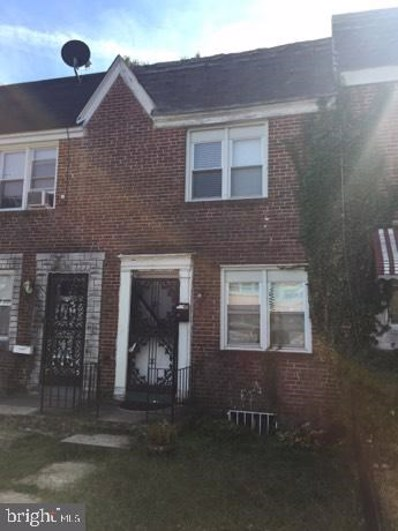 3507 W Mulberry Street, Baltimore, MD 21229 - #: MDBA487878