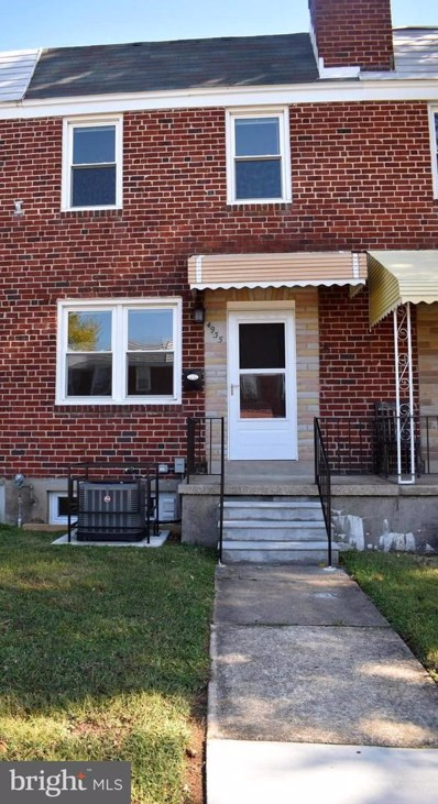 4935 Schaub Avenue, Baltimore, MD 21206 - #: MDBA487894