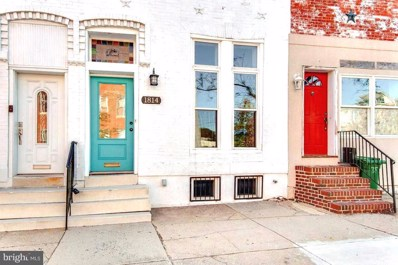1814 Barclay Street, Baltimore, MD 21202 - #: MDBA487932