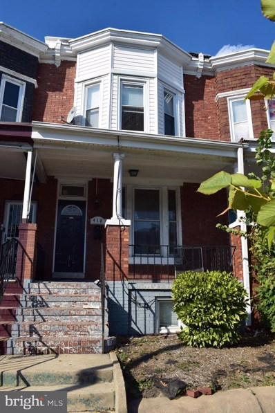 418 E 28TH Street, Baltimore, MD 21218 - #: MDBA488006